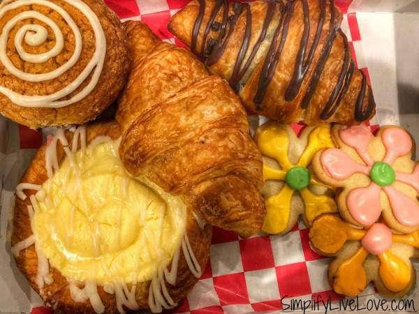 Pastries from Fayze's Restaurant & Bakery in La Crosse Wi