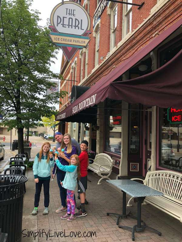 The Pearl Ice Cream Parlor La Crosse