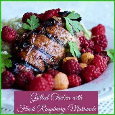 raspberry chicken marinade