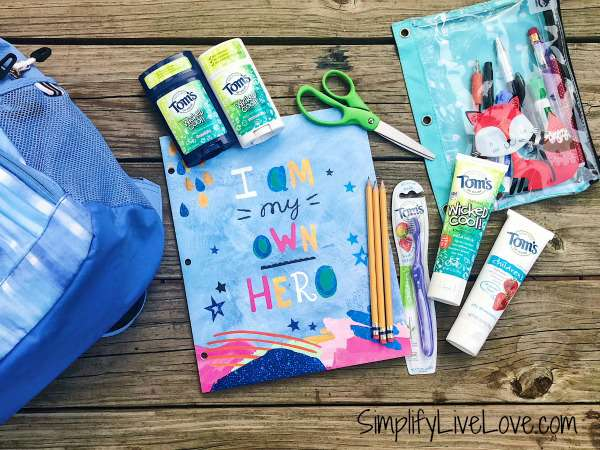 Back to School with Natural Toothpaste & Deodorant for Kids Tom's of Maine