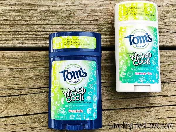 tom's of maine deodorant for kids