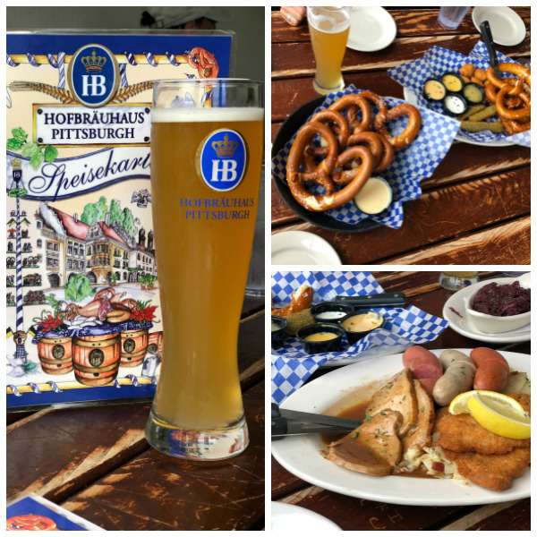food at the hofbrauhaus pittsburgh
