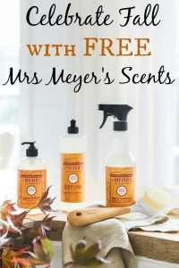 mrs meyers new fall scents