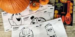 Free Pumpkin Carving Patterns + Hotel Transylvania 3 Fun!