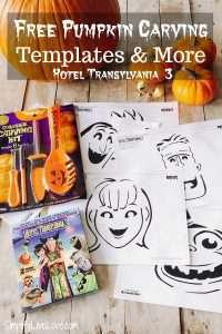 Hotel Transylvania 3 Free Pumpkin Carving Patterns