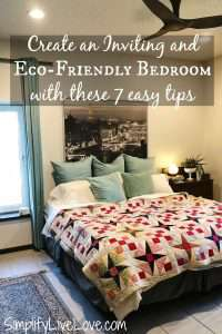 eco friendly bedroom - best mattress in a box and organic cotton sheets