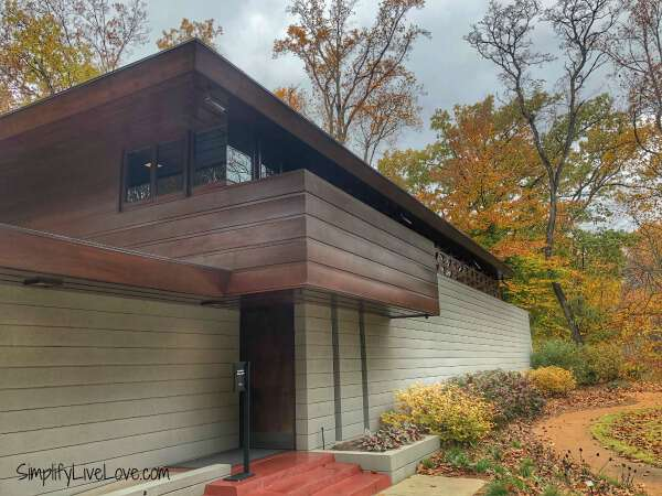 Frank Lloyd Wright House Crystal Bridges