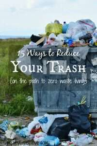 garbage dumpster - 15 ways to reduce your trash on the path to zero waste living