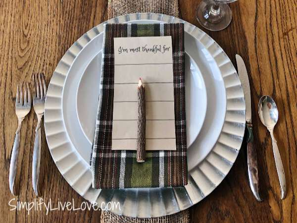 thanksgiving table printable