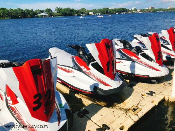 Adventures at Sea jet ski rentals Panama City Beach jetskis