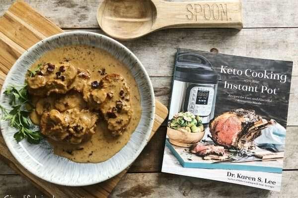 Keto Smothered Instant Pot Pork Chops + Giveaway