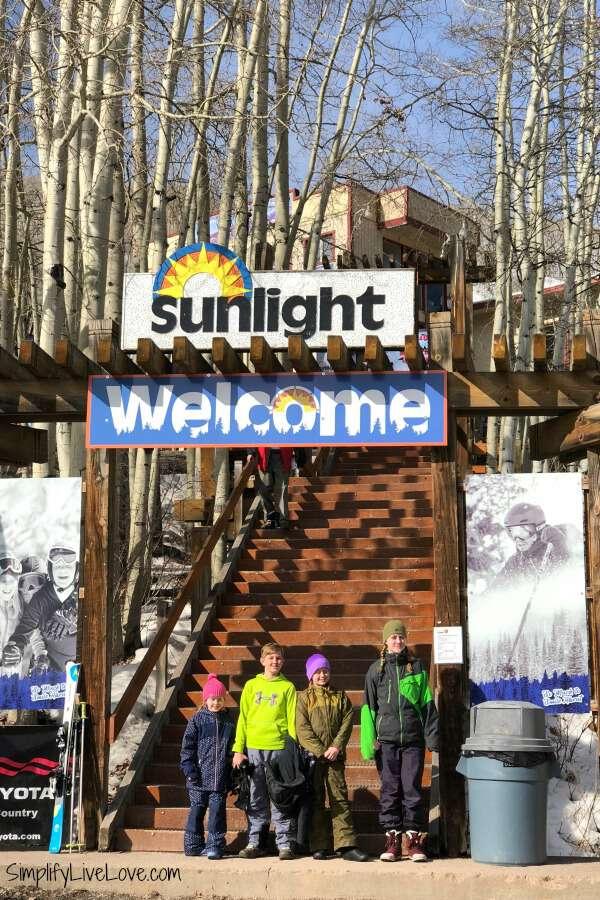Sunlight Mountain Resort in Glenwood Springs CO