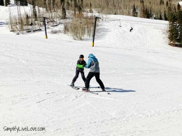 ski lessons at Sunlight