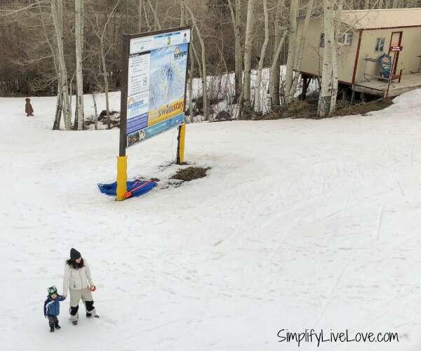 ski swim stay sunlight mountain