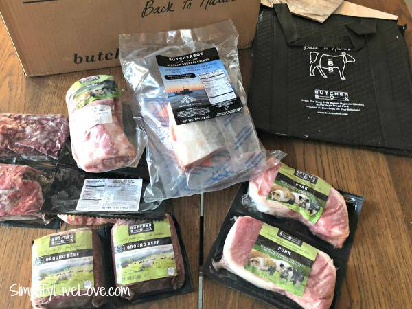 Butcherbox meat haul