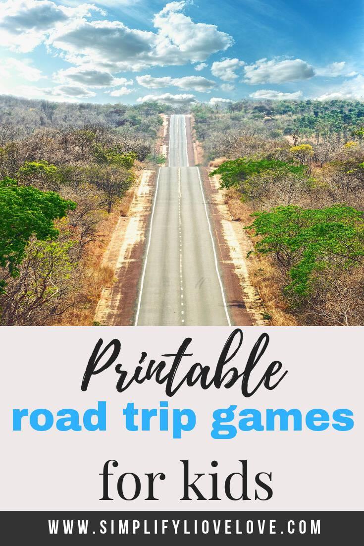 printable road trip games for kids