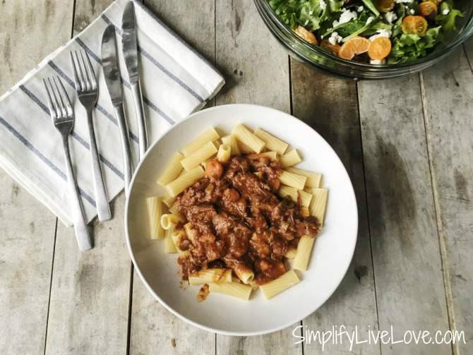 Beef with Rigatoni - Hearty & Delicious Instant Pot Meal
