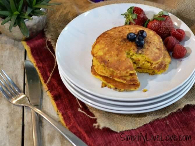 5 Ingredient Cottage Cheese Blender Pancakes