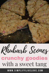rhubarb scone pin