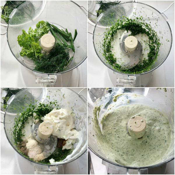 steps of making ranch dressing