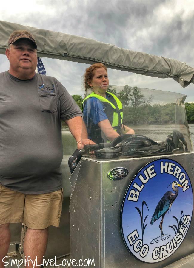 Blue Heron Eco Cruise at Rock Creek Marina