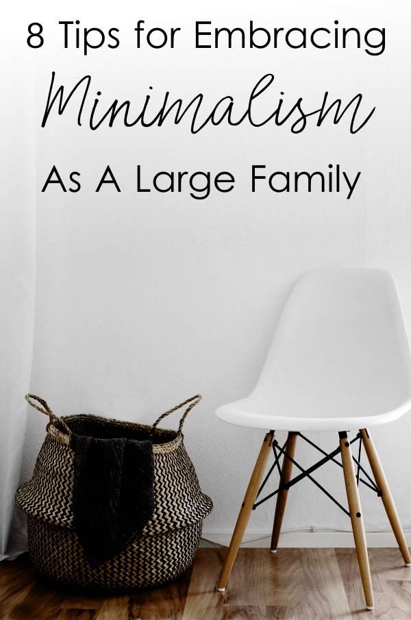 largefamilyminimalism