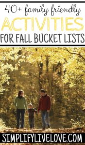 Fall Bucket List Ideas Every Family Should Try