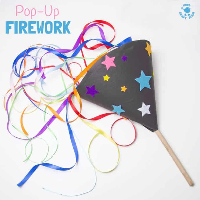 Pop-Up Firework Craft