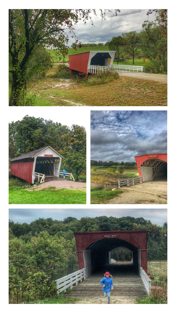 5 of the madison county covered bridges