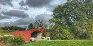 Hogback bridge covered bridges of madison county