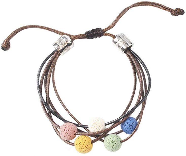 Essential Oil Lava Rock Stone Bracelet