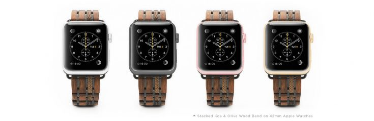 JORD Wood Watches Apple Watch Band