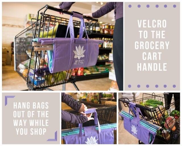 lotus trolley shopping cart system