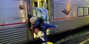 Amtrak coach class empire builder