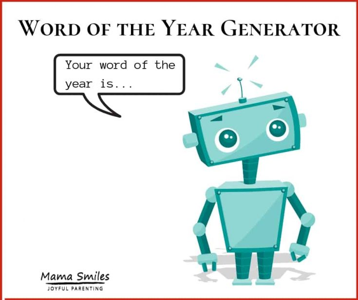 Word of the Year Generator
