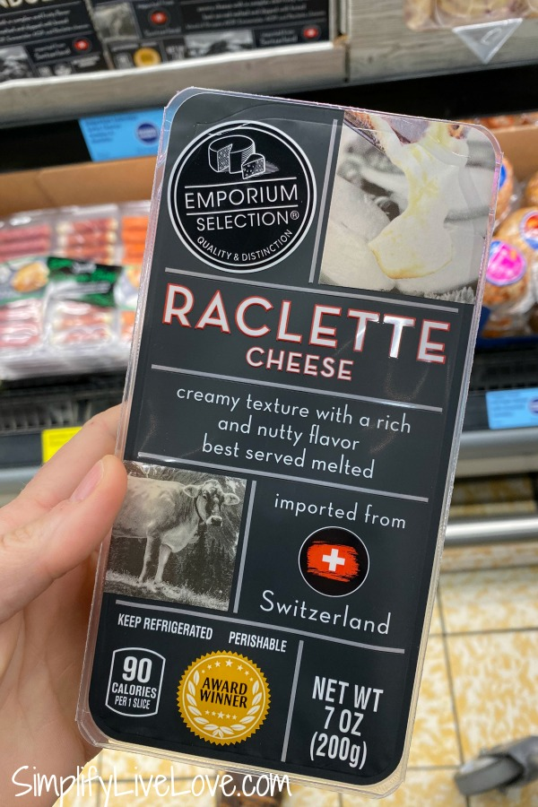 raclette cheese from aldi