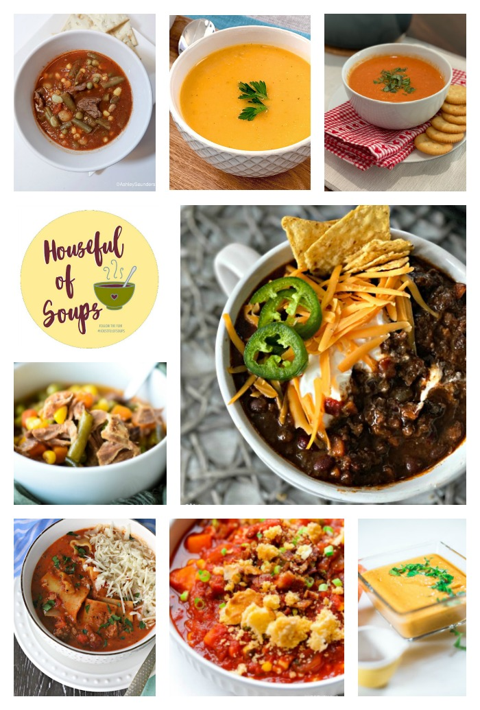 20 + soup recipes for winter