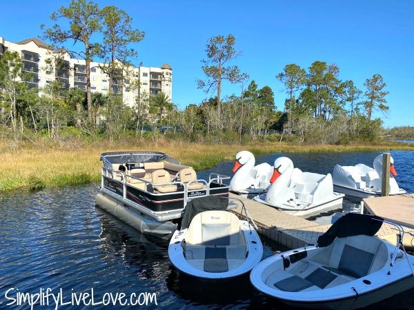 boats at lake austin