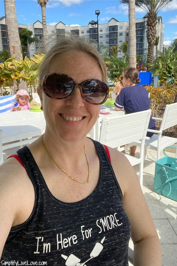 hanging out at surfari water park orlando