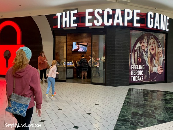 the escape game at MOA