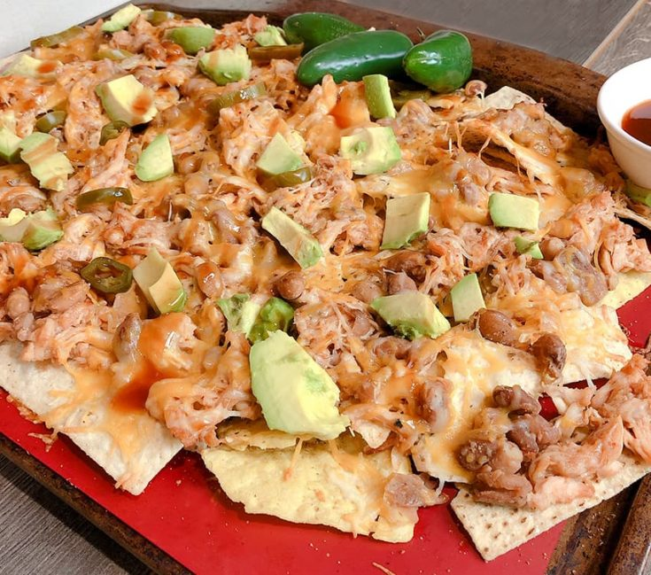 These aren't your ordinary Tex-Mex Nachos