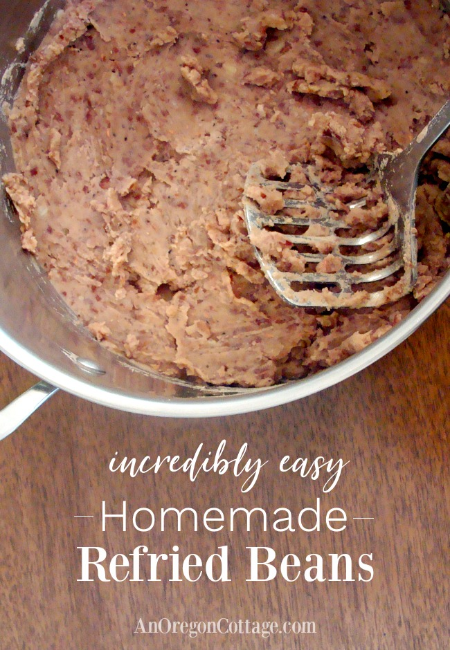 Incredibly Easy Refried Beans Recipe