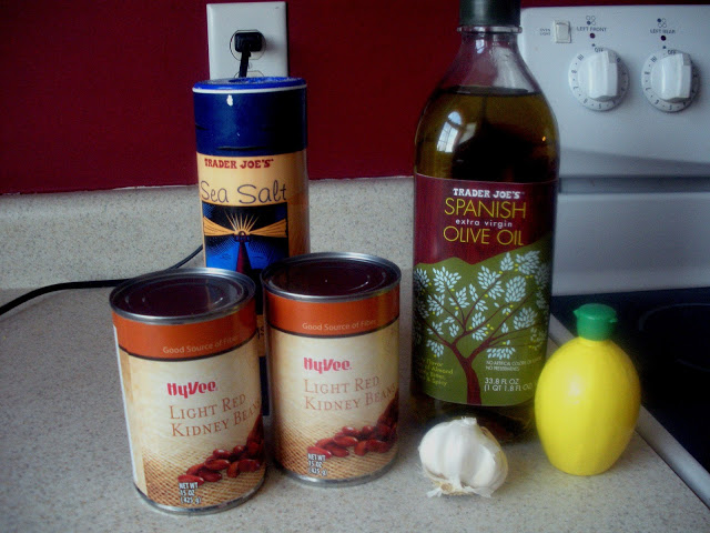 Red Kidney Bean Hummus