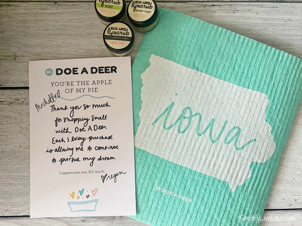 made in iowa gift basket ideas doe a deer