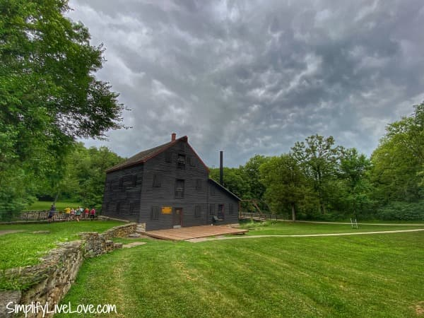Grist Mill at Wildcat Den State Park