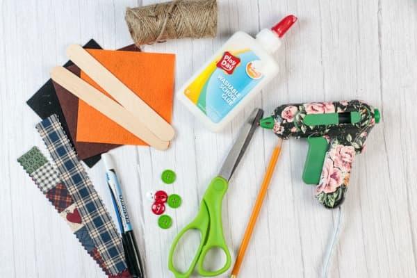 Craft Stick Snowman Ornament Craft Supplies (1)