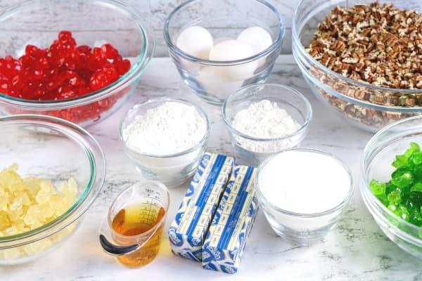 ingredients for fruit cake cookies (1)